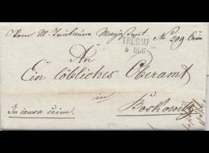 Österreich: 1839: Trübau nach Boskowitz