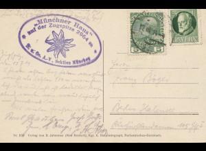 Österreich: 1914: Münchner Haus auf der Zugspitze