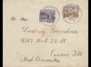 Österreich: 1933: Gross Petersdorf nach USA