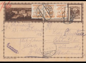 Österreich: 1929: Ganzsache Wien