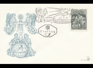 Österreich: 1967: Ersttag Christkindl