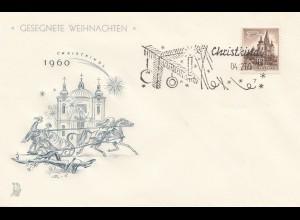 Österreich: 1960: Christkindl auf Sonderkarte