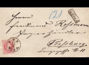 Österreich: 1870: Wien nach Preßburg