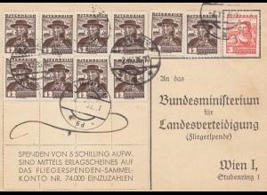 Österreich: 1936: Landesverteidigung; Fliegerspendenkonto, Armee ruft euch
