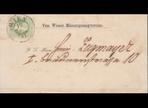 Österreich: 1881: Wien - Männergesangverein