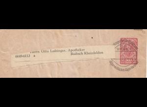 Österreich: Streifband Dt.-Österr. Alpenverein 40 Heller