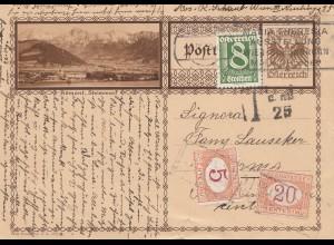 Österreich: 1930: Ganzsache Wien nach Italien