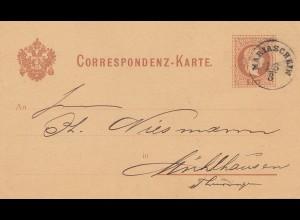 Österreich: 1927: Mariaschein nach Mühlhausen/Thür