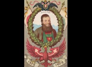 Österreich: 1909: Innsbruck Tiroler Landes-Jahrhunderfeier - Ansichtkarte Hofer