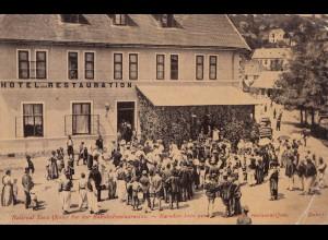 Österreich: Ansichtskarte Bosnien-Herzegowina nach Kalksburg