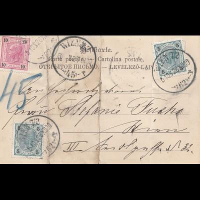 Österreich: 1900: Ansichtskarte: Nürnberg Theo. Stroefers Kunstverlag Nr.13