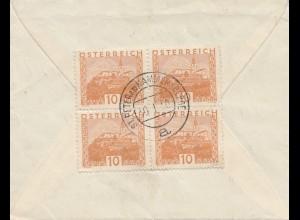 Österreich: 19xx: Brief St. Peter am Kammersberg nach Böhmen