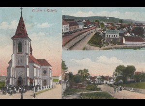 Österreich: Ansichtskarte Pozdrav z Rozsece