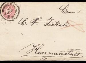 Österreich: 1866: Wien nach Herrmannstatt
