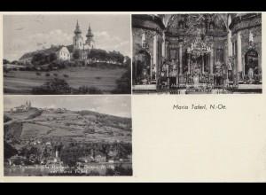 Österreich: 1934: Ansichtskarte Maria Taferl