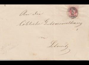 Österreich: 1871: Oppatowitz nach Letowitz