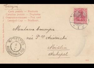 Ö-Levante: 1904: Baden-Baden nach Metelino
