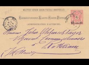 Ö-Levante: 1890: Smyrne nach Niederlande-Rotterdam