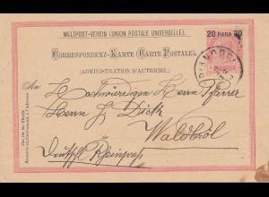 Ö-Levante: 1893: Adrianopel nach Waldbröl