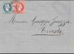 Ö-Levante: 1878: Constantinopel nach Trieste