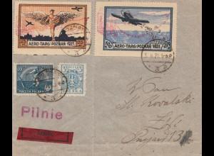 Polen: 3.6.1921: Aero Targ Poznan, Eilboten