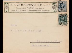 Polen: 1949: Poznan nach Dresden