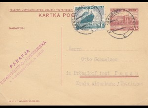 Polen: 1937: Aleksandrowie nach Prössdorf