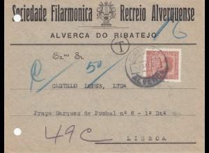 Portugal: Alverca do Ribatejo nach Lisboa