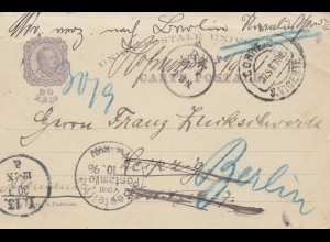 Portugal: 1898 S. Vincente nach Berlin