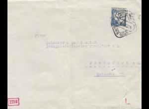Portugal: 1940: Lisboa nach Frankfurt - Schenker & Co., Zensur