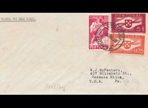 Portugal: 1939: Horta nach USA, Erstflug