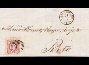 Portugal: 1865 Vianna do Cast nach Porto