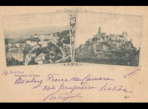 Portugal: 1900: Ansichtskarte Cintra