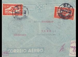 Portugal: 1940 Lufptost nach Wien