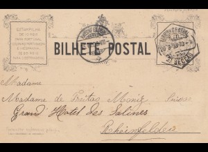 Portugal: 1903: Ansichtskarte Lisboa nach Rheinfelden