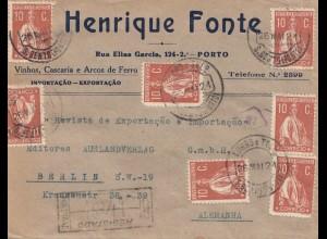 Portugal: 1921: Porto nach Berlin