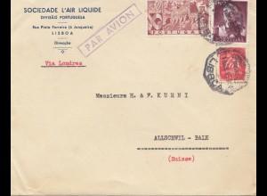Portugal: 1940 Lisboa über London in die Schweiz