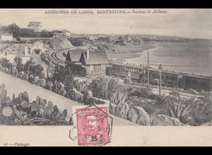 Portugal: 1904: Ansichtskarte Lisaboa in die Schweiz