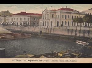 Portugal: 1908: Ansichtskarte Figueira da Foz