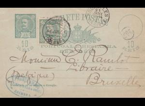 Portugal: 1901: Coimbra nach Brüssel