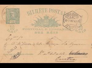 Portugal: 1899: Seccao nach Cintra