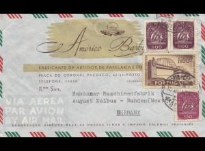 Portugal: 1953: Porto nach Rahden