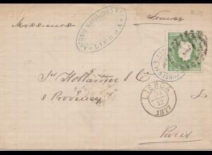 Portugal: 1871: Lisboa nach Paris
