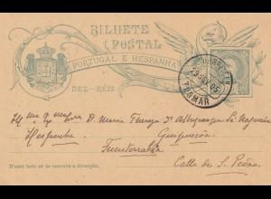 Portugal: 1905: Ganzsache von Thomar
