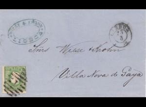 Portugal: 1879: Lisboa nach Villa Nova de Gaya