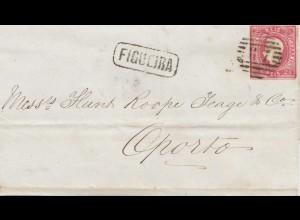 Portugal: 1867: Gigueira nach Oporto
