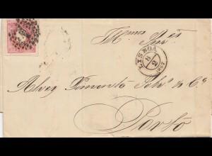 Portugal: 1867 Lisboa nach Porto