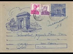 Rumänien: 2 Briefe