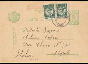 Rumänien: 1931: Sulina nach Napoli