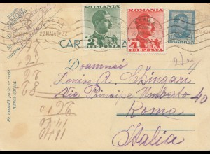Rumänien: 1940: Braila nach Rom